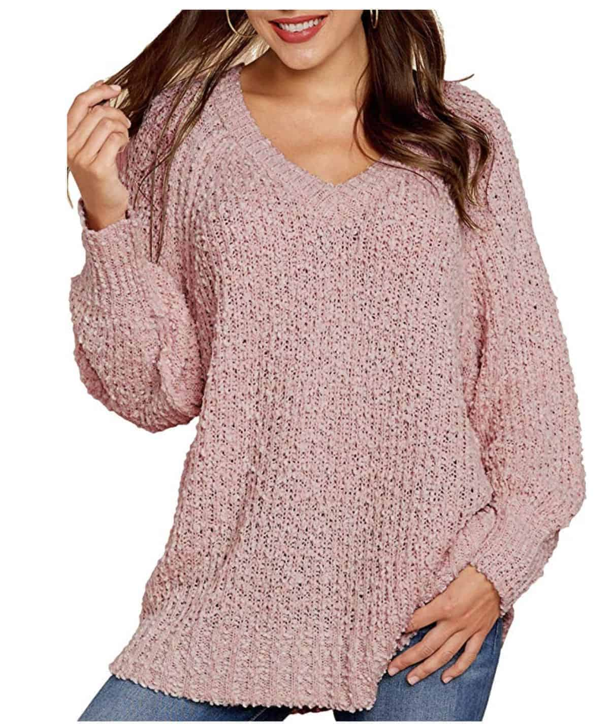 Fuzzy Popcorn Sweater
