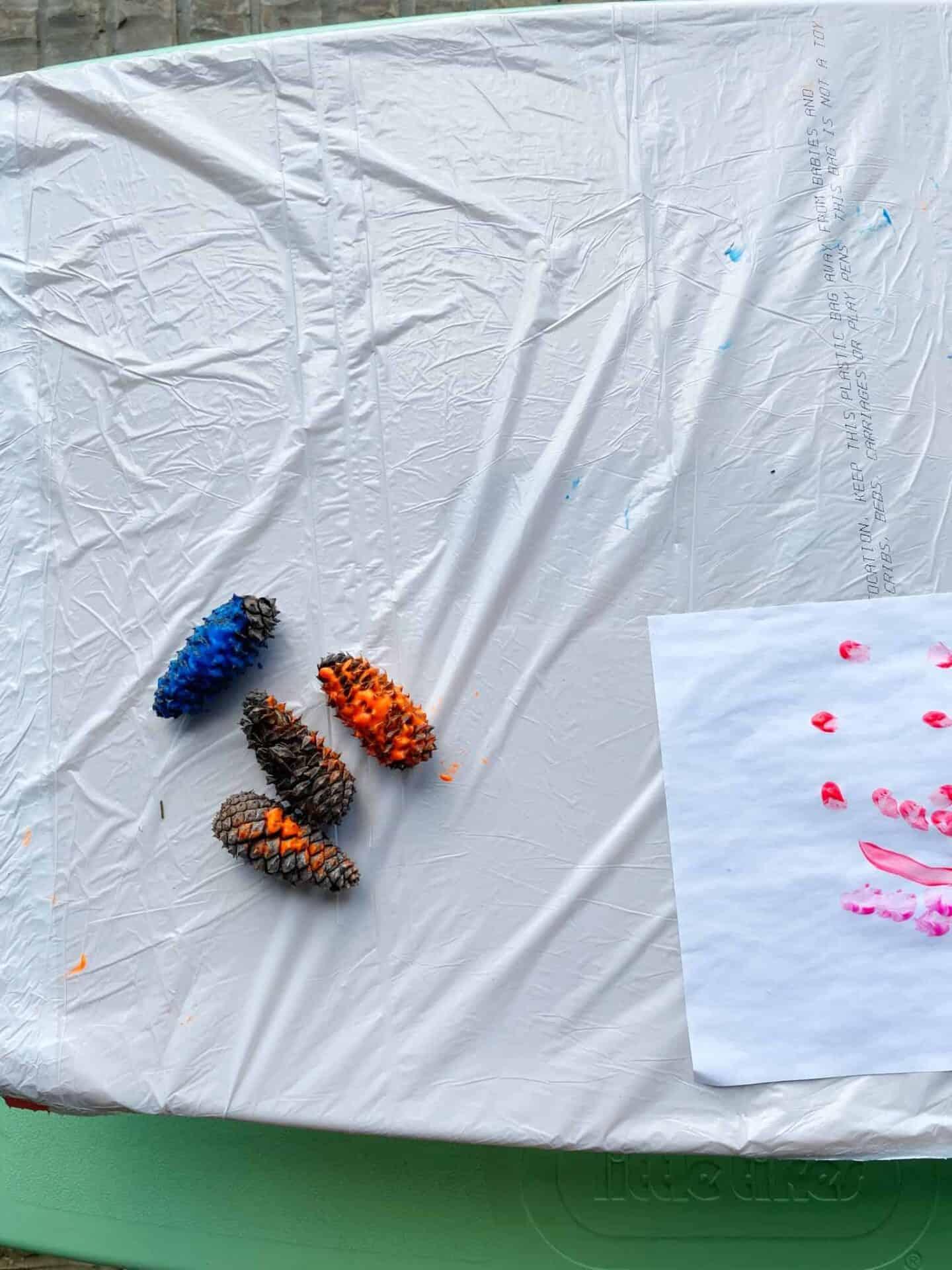 outdoor artwork for kids