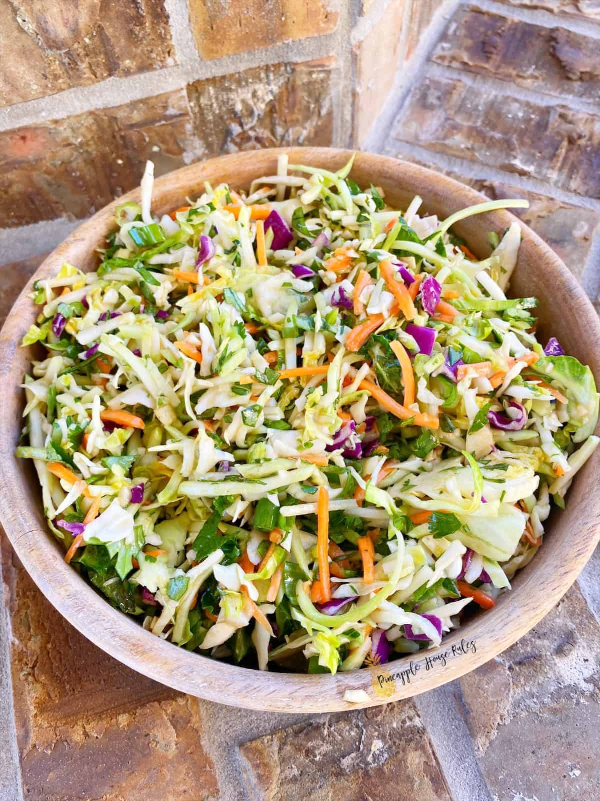 Tangy Herb Coleslaw