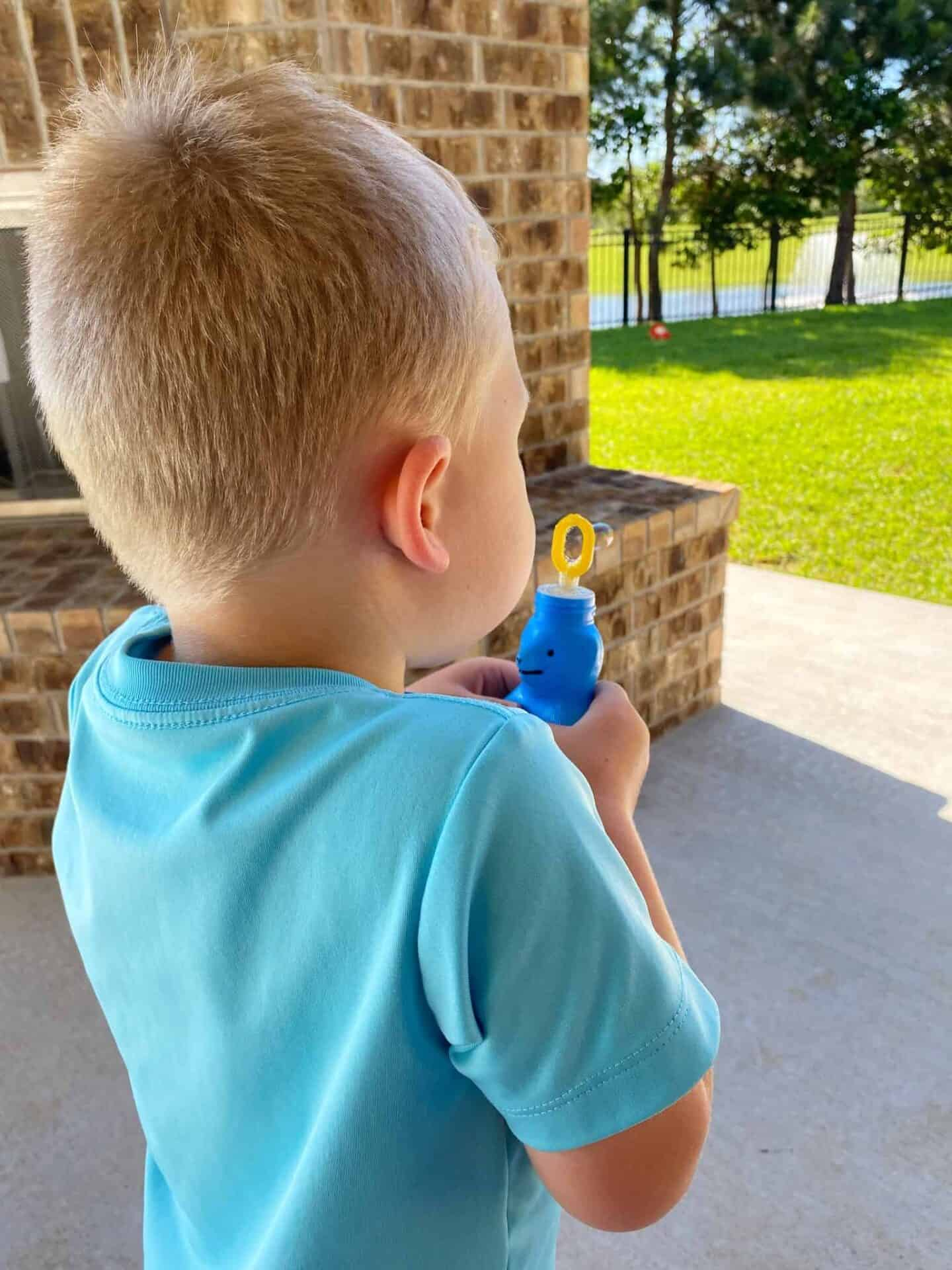 Easy Bubbles for Kids