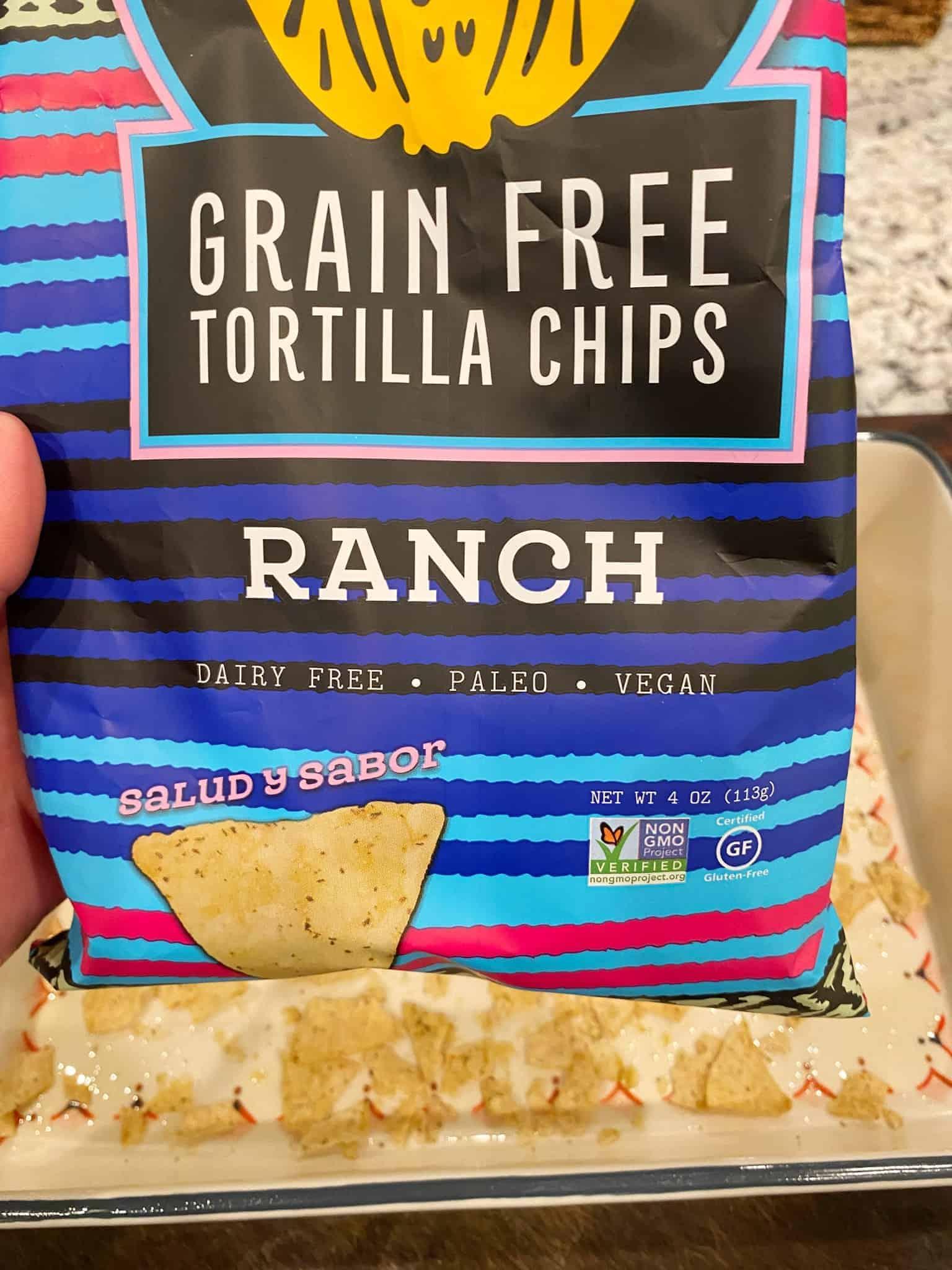 Taco-Casserole-Weight-Watchers-siete-low-carb-tortilla-chips