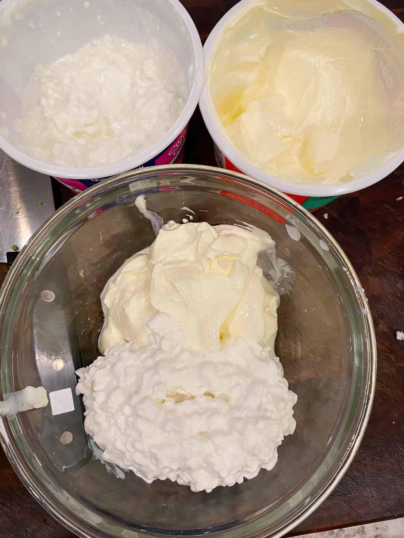 Taco-Casserole-Weight-Watchers-sour-cream-cottage-cheese