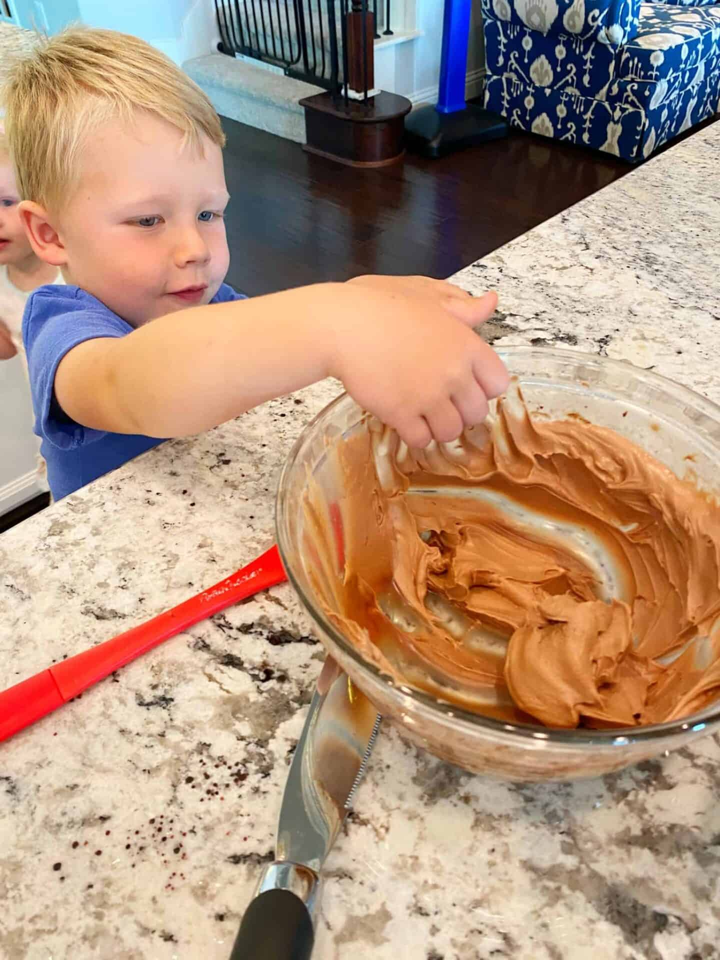 Best-Ever-Chocolate-Cake-taste-tester