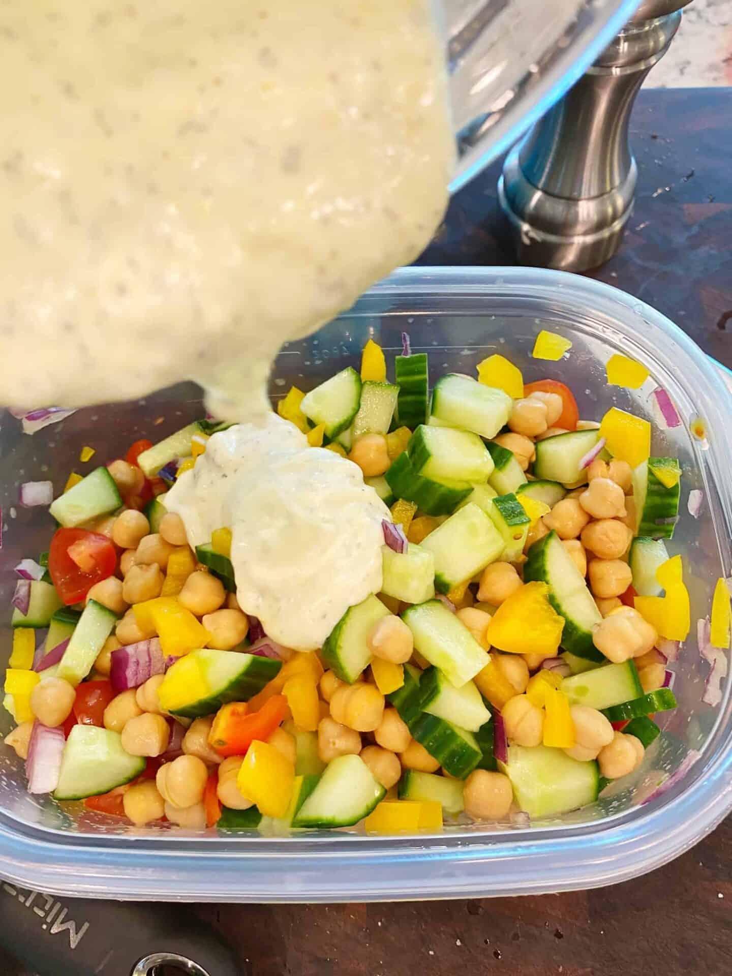 Mediterranean-Chickpea-Salad-dressing-2