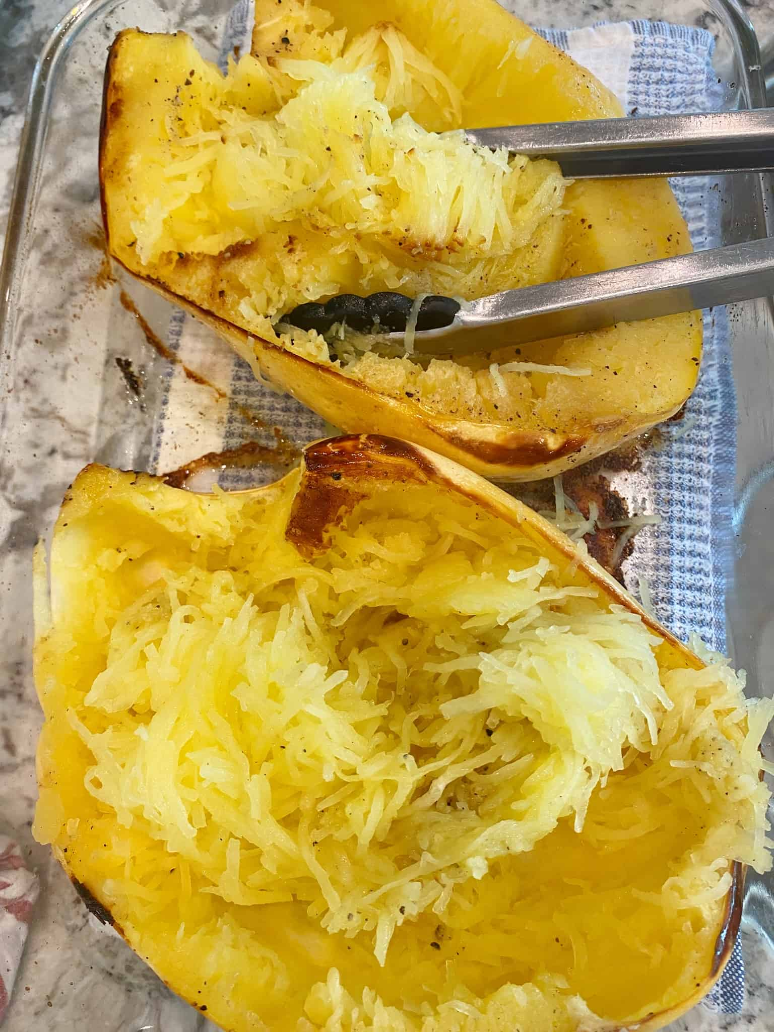 Spaghetti-Squash-Beef-Parmesan-shred-spaghetti-squash  Pineapple House Rules
