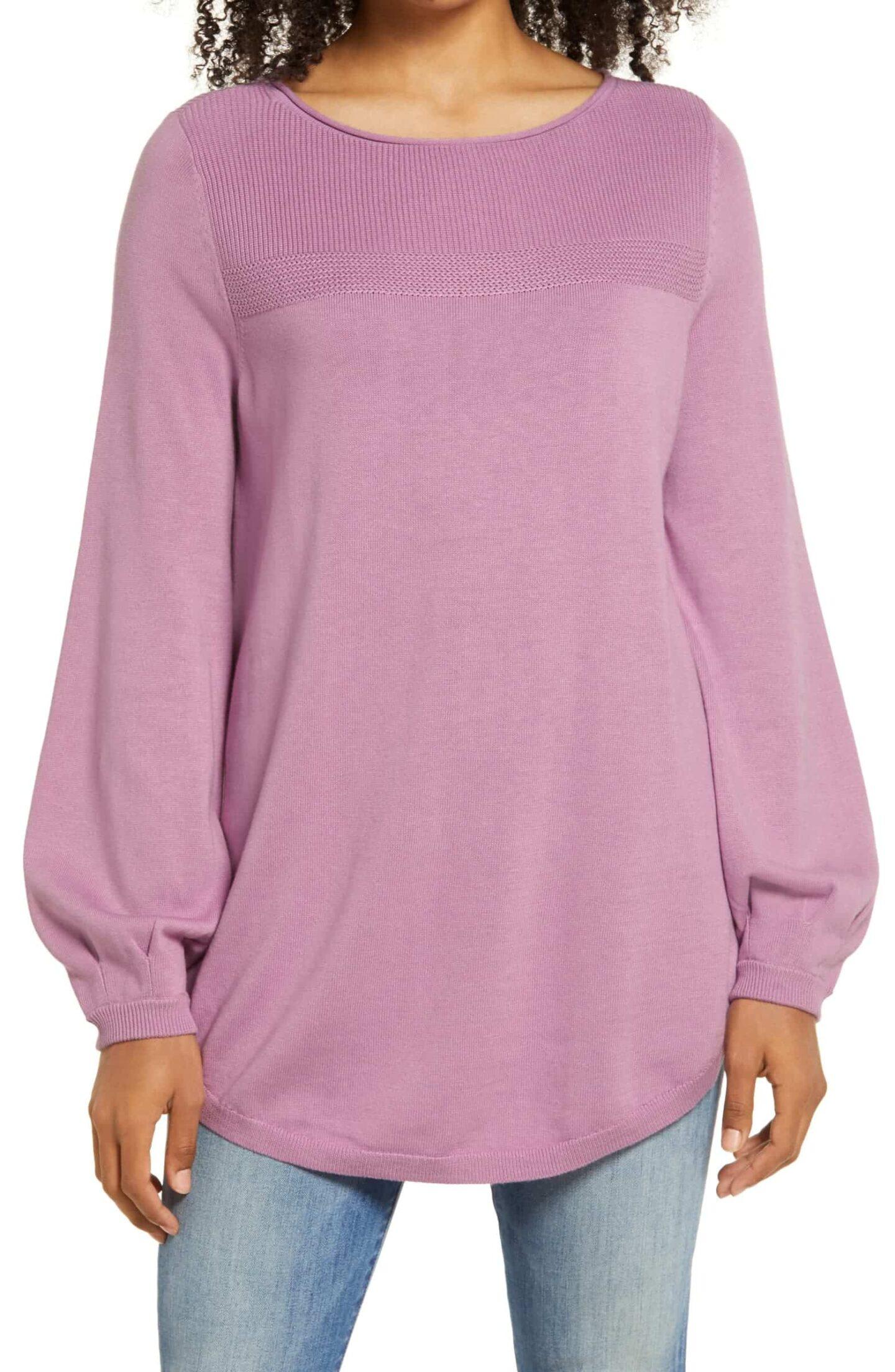 Bishop-Sleeve-Sweater