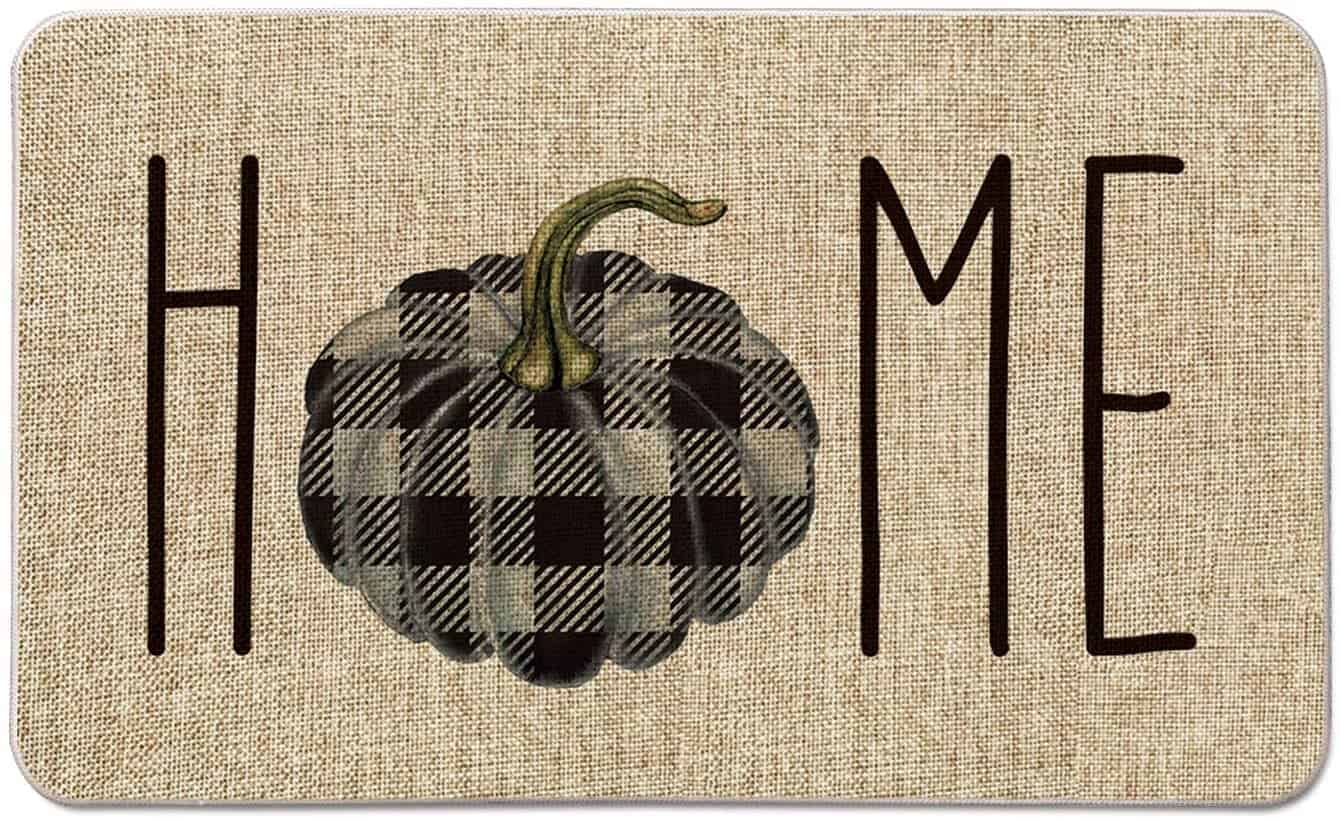Buffalo-Plaid-Pumpkin-Fall-Doormat-Outdoor-
