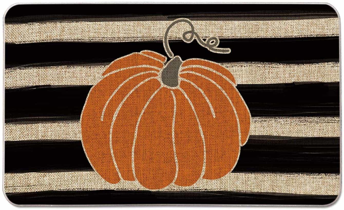 Pumpkin-Stripes-Doormat-Outdoor