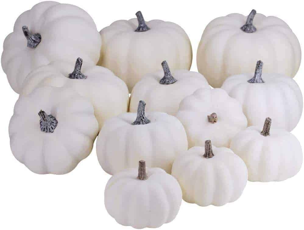 Rustic-White-Pumpkins