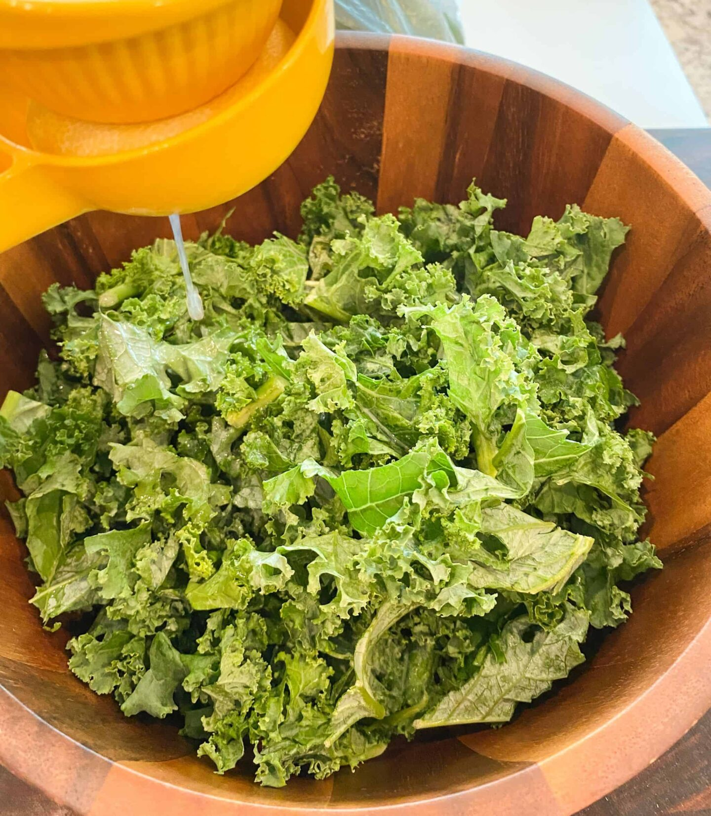 lemon-juice-to-cook-the-kale-and-soften